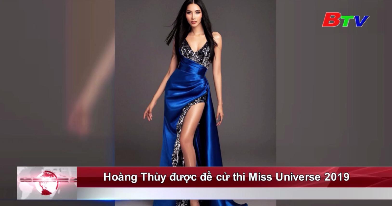 Hoàng Thùy được đề cử thi Miss Universe 2019