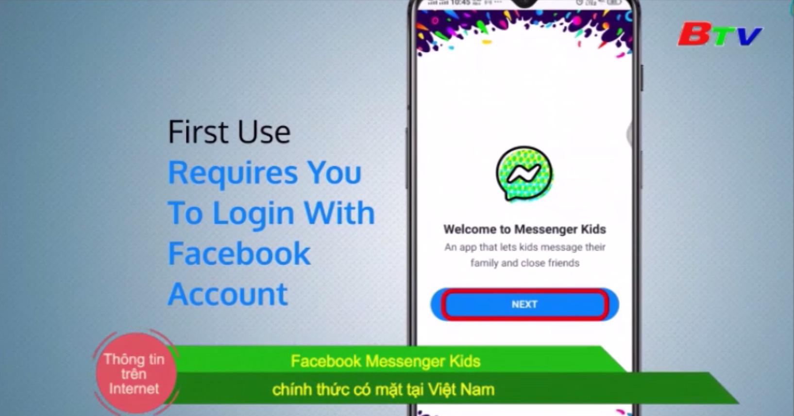 Facebook Messenger Kids chính thức có mặt tại Việt Nam