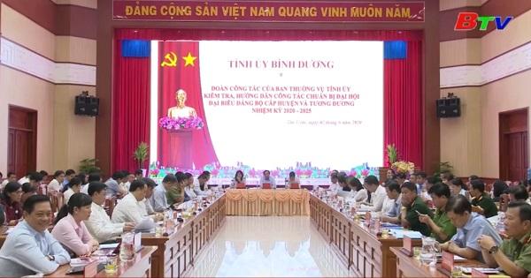 Tân Uyên chuẩn bị Đại hội Đảng bộ Thị xã