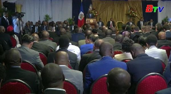 Thủ tướng Haiti tuyên thệ nhậm chức
