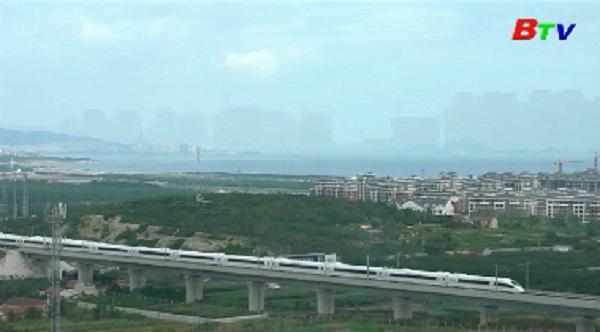 Hiện tượng ảo ảnh thành phố trên biển xuất hiện ở Sơn Đông, Trung Quốc