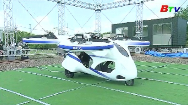 Nhật Bản thử nghiệm mẫu xe bay đầu tiên