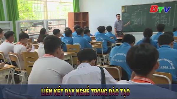Liên kết dạy nghề trong đào tạo