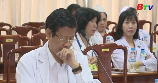 Lãnh đạo tỉnh làm việc với Bệnh viện Đa khoa tỉnh Bình Dương