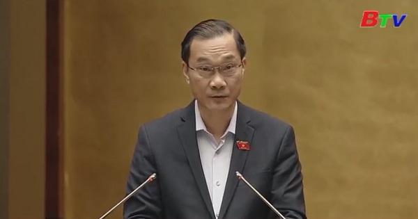 Quốc hội biểu quyết thông qua Nghị quyết về kế hoạch phát triển kinh tế - xã hội năm 2019