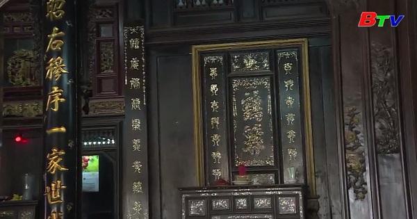 Nhà cổ - Nơi lưu giữ di sản văn hóa Hán Nôm