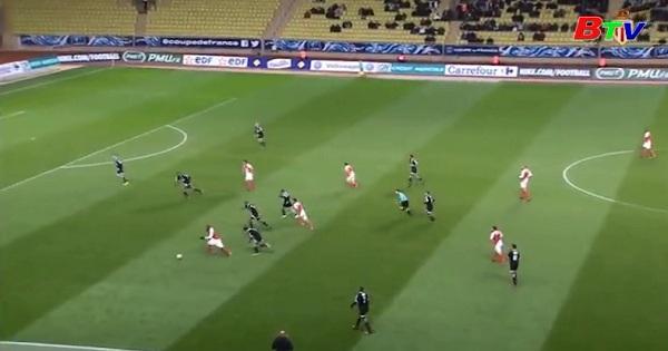 Vòng 1/32 Cúp quốc gia Pháp: Monaco 2-1 Ajaccio