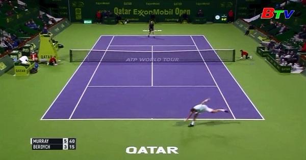 Andy Murray và Novak Djikovic vào chung kết Qatar mở rộng 2017