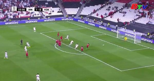 Bảng D - Vòng chung kết Asian Cup 2019 - Iran 5-0 Yemen