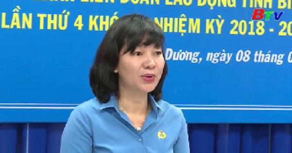 Hội nghị BCH mở rộng LĐLĐ tỉnh lần thứ 4 khóa X