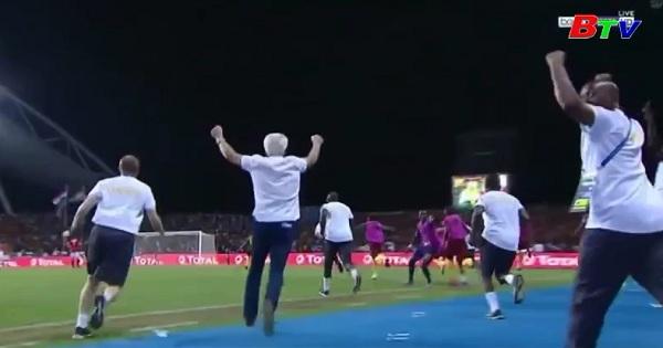 Người dân Cameroon ăn mừng chức vô địch Châu Phi 2017