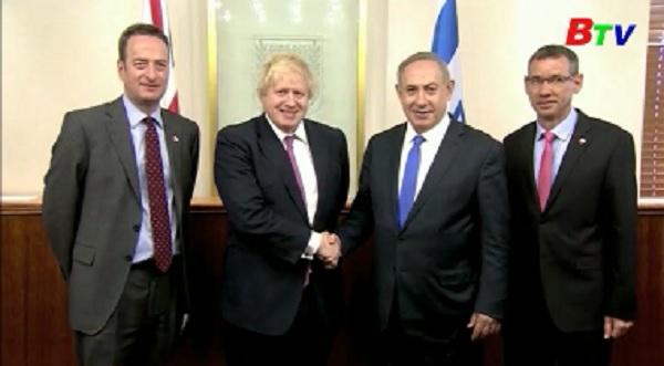 Ngoại trưởng Anh thăm thành phố Jerusalem và khu bờ tây