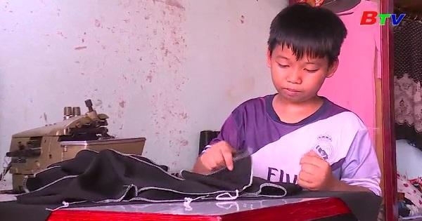Thắp sáng ước mơ xanh - Em Nguyễn Vinh Sang, lớp 6A10, trường THCS Nguyễn Bỉnh Khiêm, huyện Dầu Tiếng, Bình Dương