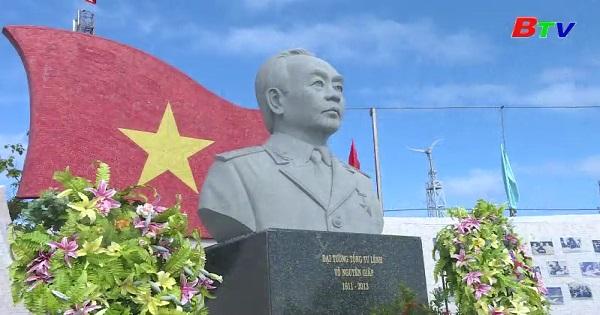 Công viên Đại tướng Võ Nguên Giáp ỏ đảo Sơn Ca