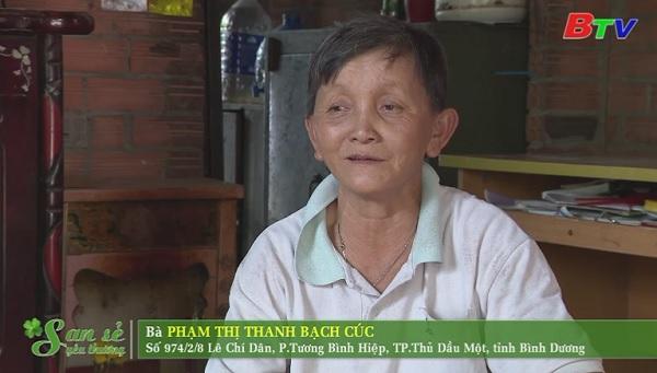 San Sẻ Yêu Thương - Hoàn cảnh bà Phạm Thị Thanh Bạch Cúc (974/2/8 đường Lê Chí Dân, phường Tương Bình Hiệp)