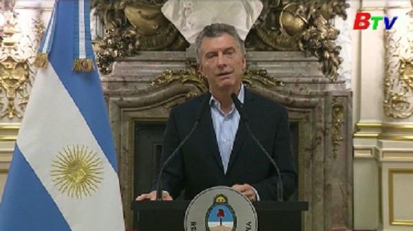 Argentina đề nghị IMF can thiệp khi thị trường hối đoái biến động mạnh