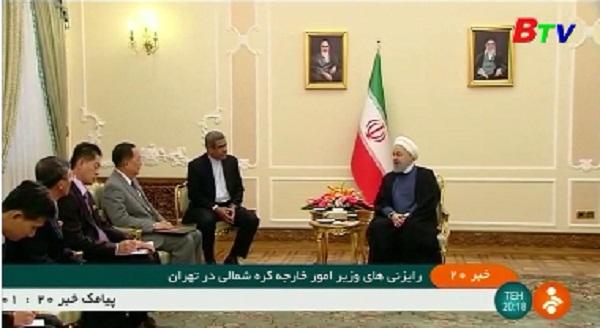Iran mong muốn thúc đẩy hợp tác với Triều Tiên