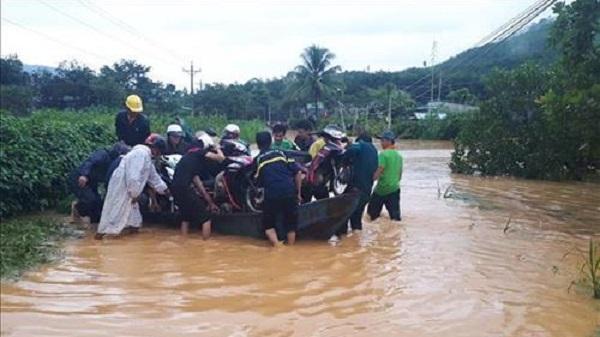 Mưa lớn kéo dài gây nhiều thiệt hại tại tỉnh Lâm Đồng