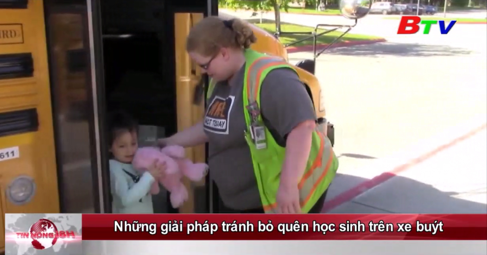 Những giải pháp tránh bỏ quên học sinh trên xe buýt