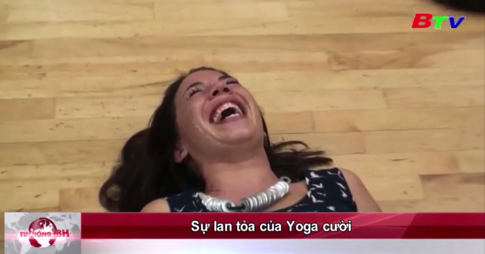 Sự lan tỏa của Yoga cười