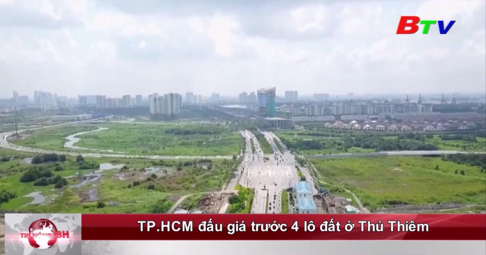 TP.HCM đấu giá trước 4 lô đất ở Thủ Thiêm