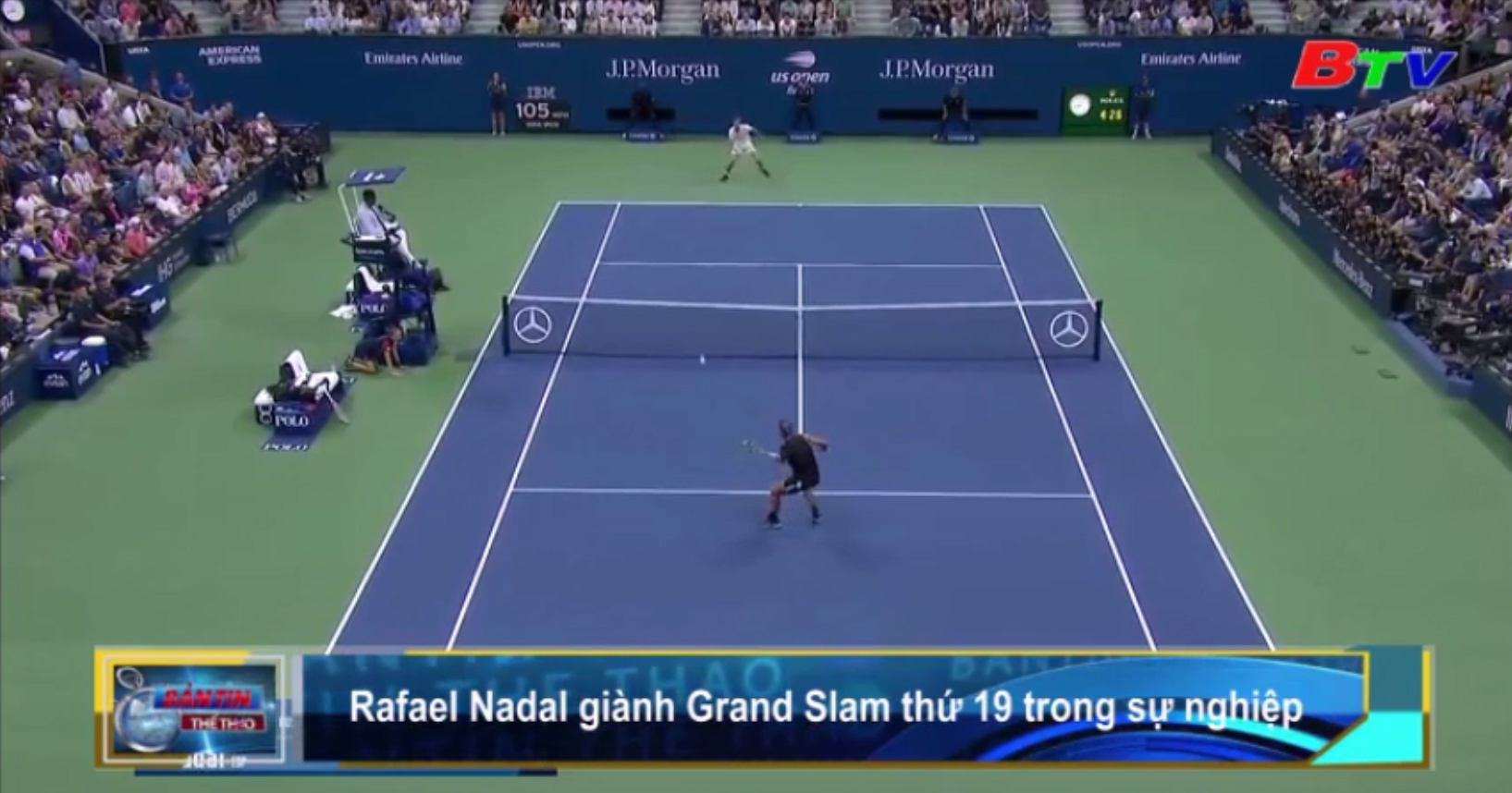 Rafael Nadal giành Grand Slam thứ 19 trong sự nghiệp