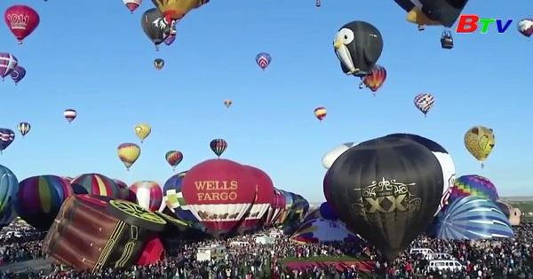 Liên hoan khinh khí cầu quốc tế 2019 ở Albuquerque, Mỹ