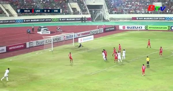 Bảng A -AFF Cúp 2018 : Lào 0-3 Việt Nam