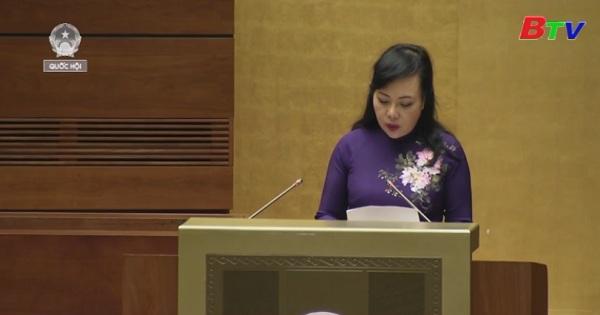 Kỳ họp thứ 6, quốc hội khóa XIV: Thẩm tra dự án Luật phòng, chống tác hại của rượu bia