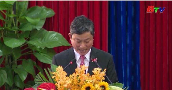 Hội đồng nhân dân tỉnh Bình Dương khóa IX khai mạc kỳ họp 12