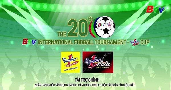 Giải bóng đá Quốc tế Truyền hình Bình Dương lần thứ XX - Cúp Number 1