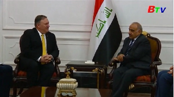 Ngoại trưởng Mỹ bất ngờ thăm Iraq