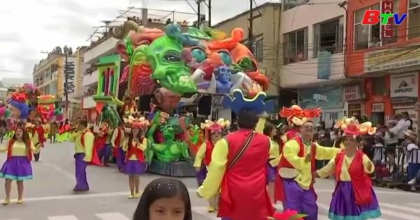Rực rỡ lễ hội những người da đen và da trắng ở Columbia