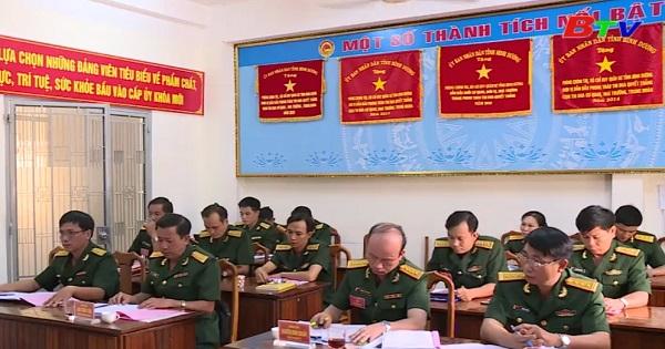 Đảng bộ Bộ Chỉ huy Quân sự tỉnh bình Dương triển khai đại hội Đảng cấp cơ sở