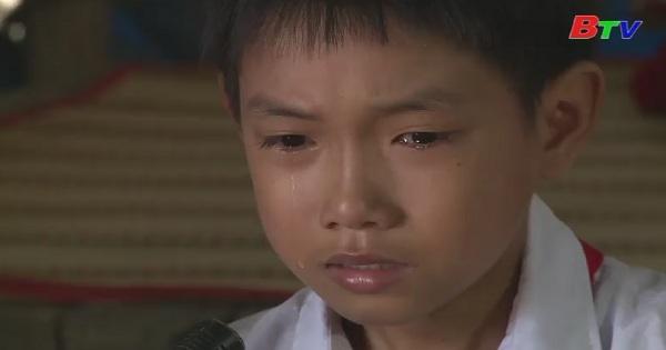 Thắp sáng ước mơ xanh - Hai em: Nguyễn Quốc Khánh và Kim Khánh Duy, trường tiểu học An Linh, Phú Giáo, Bình Dương