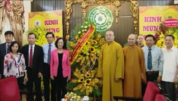 Chúc mừng Giáo hội Phật giáo Việt Nam nhân đại lễ Phật đản
