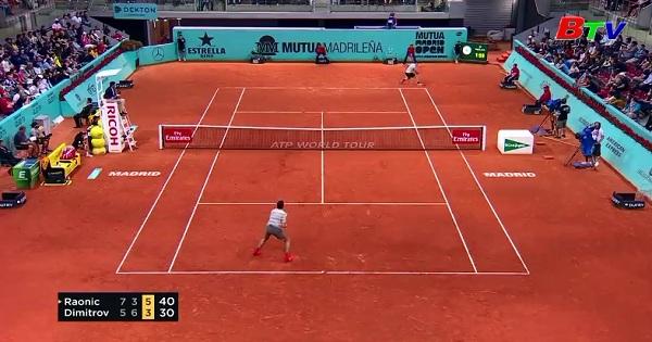 Vòng 2 Giải quần vợt Madrid mở rộng 2018