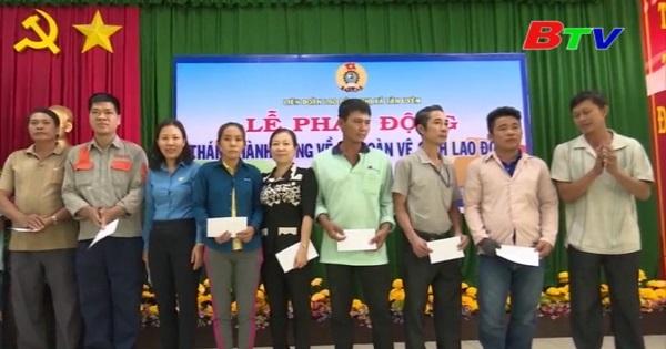 Thị xã Tân Uyên phát động Tháng hành động về an toàn vệ sinh lao động lần II/2018