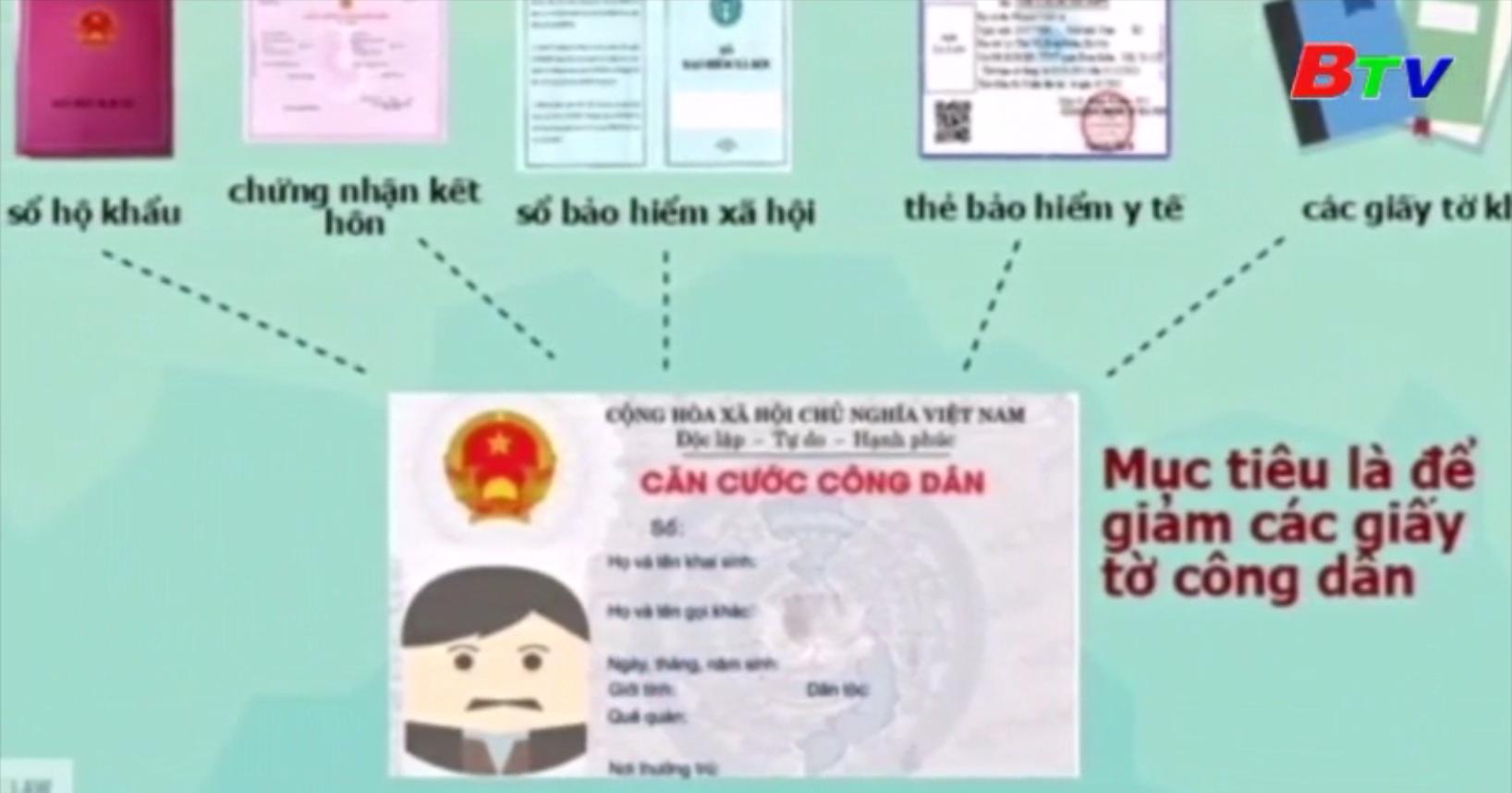Việt Nam - Thẻ căn cước công dân sẽ được tích hợp chip điện tử