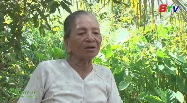 San Sẻ Yêu Thương - Hoàn cảnh bà Nguyễn Thị Xích (Số 07/1 Hồ Văn Mên, Thạnh Lộc, Lái Thiêu, Thuận An)