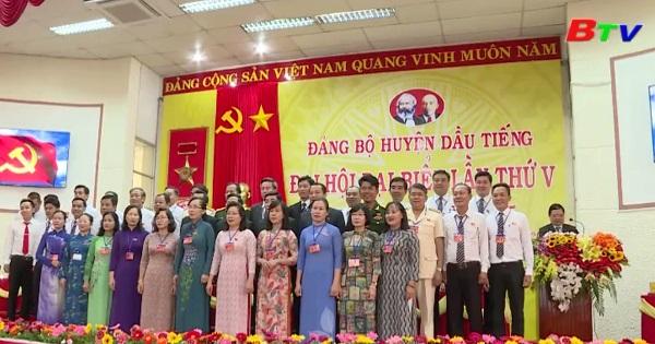 Bế mạc Đại hội Đại biểu Đảng bộ Huyện Dầu Tiếng lần V, nhiệm kỳ 2015 - 2020