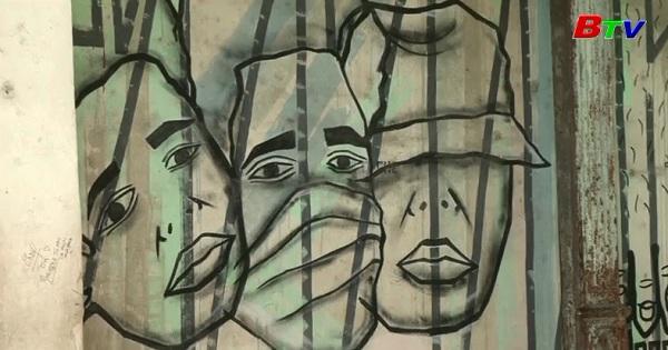 Nghệ thuật vẽ tranh tường mang lại sức sống cho đường phố Cuba
