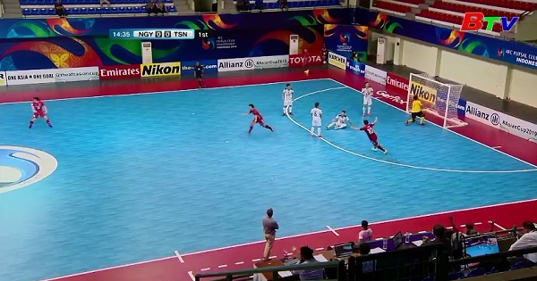 CLB Thái Sơn Nam vào bán kết Giải Futsal các CLB Châu Á  2018