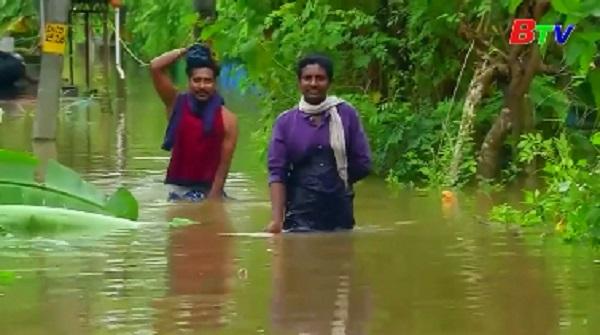 Mưa lũ và lở đất ở miền Nam Ấn Độ, ít nhất 20 người thiệt mạng