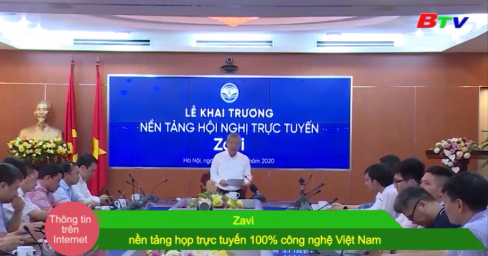 Zavi - Nền tảng họp trực tuyến 100% công nghệ Việt Nam