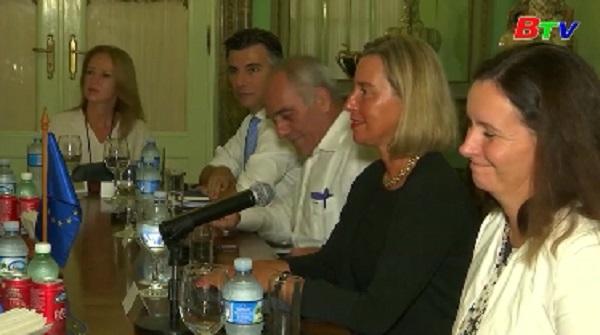 Bộ trưởng Ngoại giao Cuba tiếp đại diện cấp cao EU