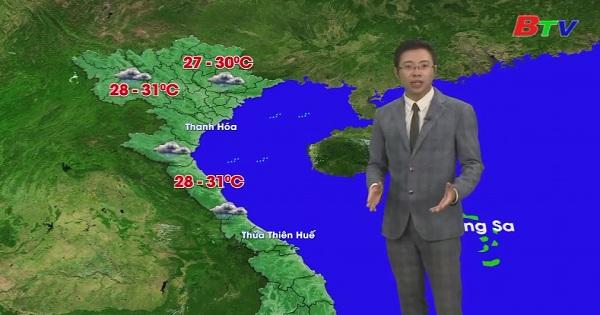 Bản tin Thời tiết (Ngày 09/10/2019)