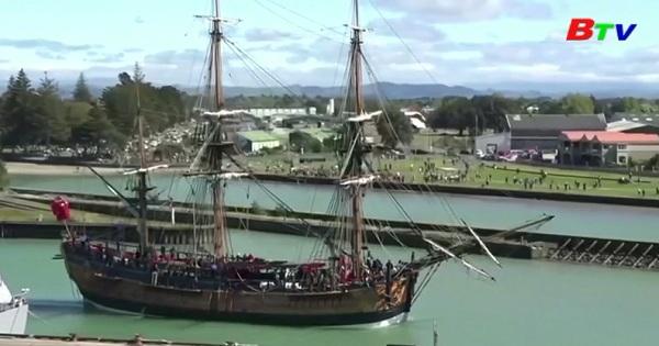 Kỷ niệm 250 năm ngày thuyền trưởng James Cook  đến New Zealandd