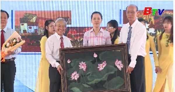 Lễ công bố Đề án bảo tồn và phát triển làng nghề sơn mài Tương Bình Hiệp
