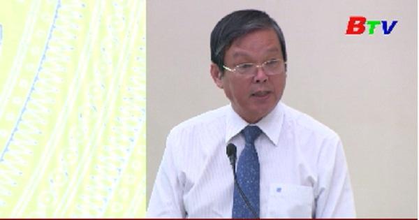 Họp báo về Đại hội Đại biểu tỉnh Bình Dương lần XI, nhiệm kỳ 2020 - 2025